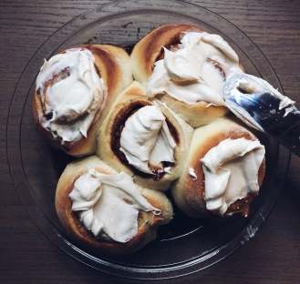cinnamon rolls -- sweetrevengepdx