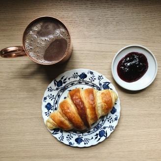 homemade croissant -- sweetrevengepdx