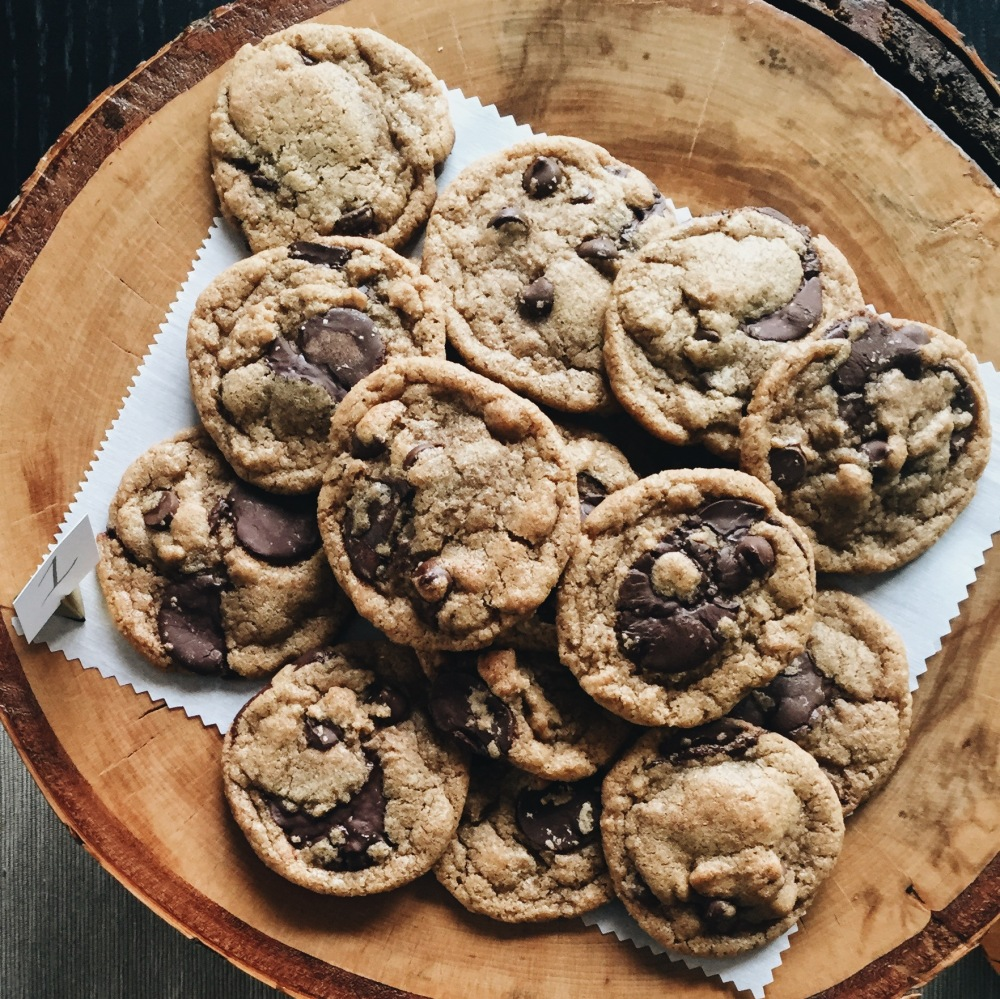whole spelt chocolate chip cookies -- sweetrevengepdx
